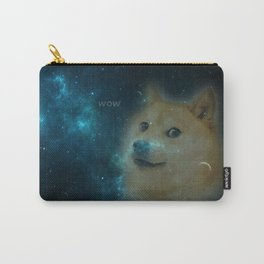 shibe doge in space Carry-All Pouch