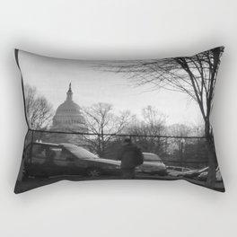 The Divide Rectangular Pillow