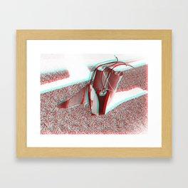 Dream Spaceship ver. `2  (3-D) Framed Art Print