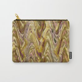Floral Wave Carry-All Pouch