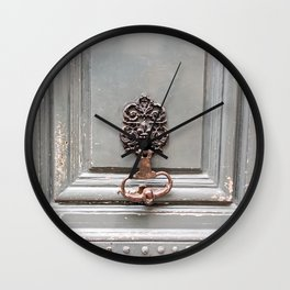 Paris Apartment Wall Clock