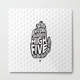 HighFive Metal Print