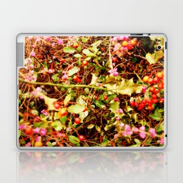Winter blossom and berries Laptop & iPad Skin