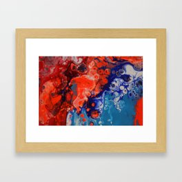 BLENDED Framed Art Print