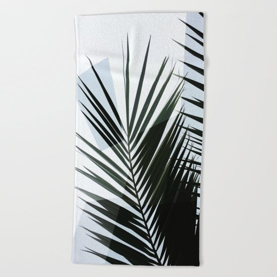 Minimal Tropical Geometry Beach Towel