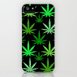 Marijuana Green Weed iPhone Case