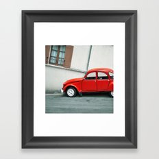 2 chevaux Framed Art Print