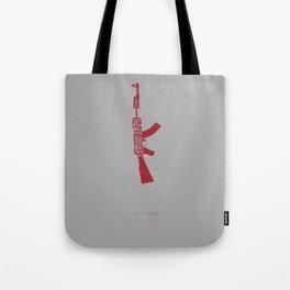 I Fear God. -Red State Tote Bag