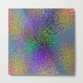 Speckled Astract Metal Print