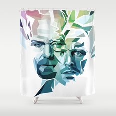 Blue Sky Thinking (Breaking Bad) Shower Curtain