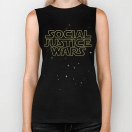 Social Justice Wars (Stroked Ver.) Biker Tank