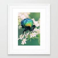 bug Framed Art Prints featuring Bug by Falko Follert Art-FF77
