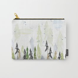 Into the woods woodland scene Carry-All Pouch