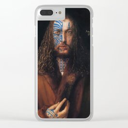 Ta Moko Durer Clear iPhone Case