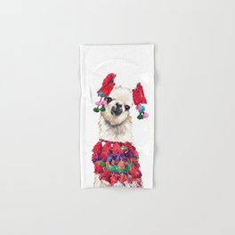 Coolest Llama Hand & Bath Towel