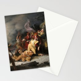 The Death of General Montgomery in the Attack on Quebec, December 31, 1775 Stationery Cards