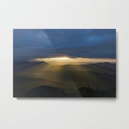 Sunrise Lightfall I Metal Print