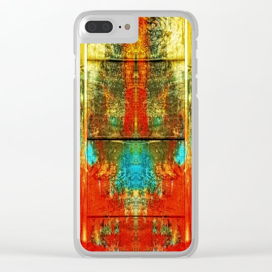 Colors-Feeling Clear iPhone Case