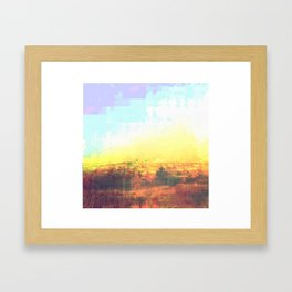 Observation Hill, Duluth MN Framed Art Print