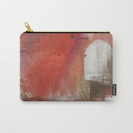 California Sun [2]: a minimal, abstract piece in reds and gold by Alyssa Hamilton Art Carry-All Pouch