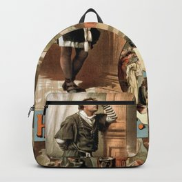 Vintage Hamlet Theatre Poster Backpack