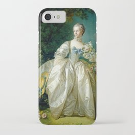 "François Boucher ""Madame Bergeret"" iPhone Case"