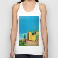 jamaica Tank Tops featuring Jamaica. Jamaican Blues by ANoelleJay