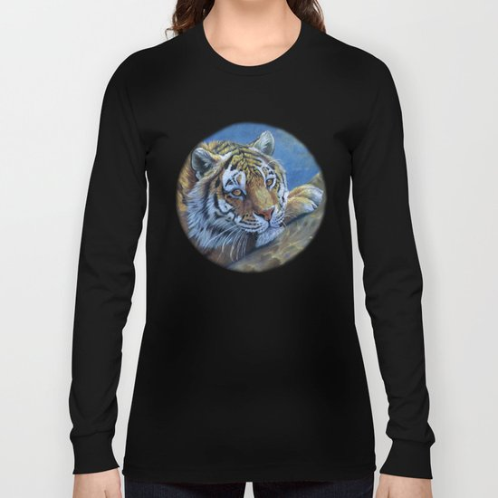 Tiger on the rock CC117 Long Sleeve T-shirt