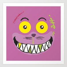 Smilezz / Cheshire Cat Art Print