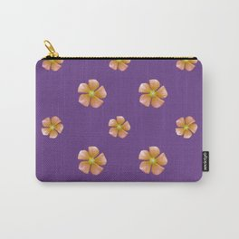 Ditsy Floral Pattern Carry-All Pouch