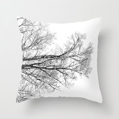 withwinter Throw Pillow