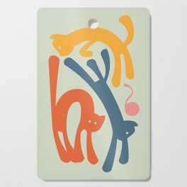Cats Cutting Board
