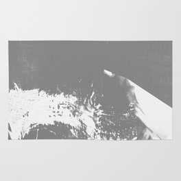 White Mountain #Abstract Rug