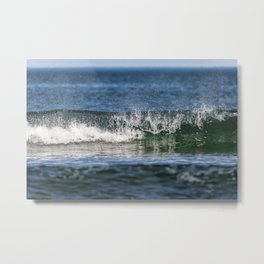 Beach Wave 0379 Metal Print
