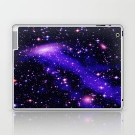 GAlaxy Purple Hot Pink Stars Laptop & iPad Skin