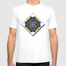 Sprang White SMALL Mens Fitted Tee