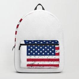Snail Patriotic American Flag Backpack