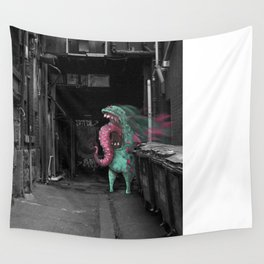 Unseen Monsters of Melbourne - Dimples McGee Wall Tapestry