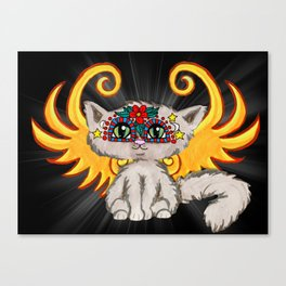 Cat Fairy Canvas Print