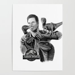 Owen and Raptors Poster