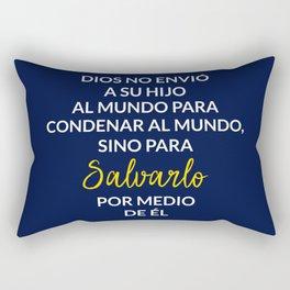 Dios salva el mundo Rectangular Pillow