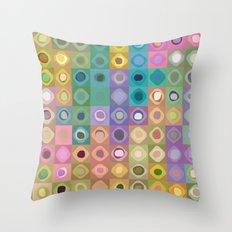 Geometric Color Throw Pillow