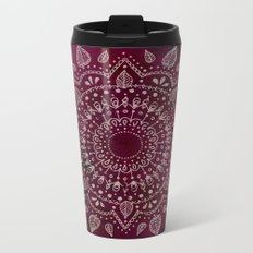 Wine Mandala Metal Travel Mug