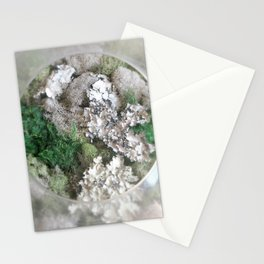 Moss View Circle Stationery Cards