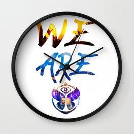 WE ARE TOMORROW Wall Clock