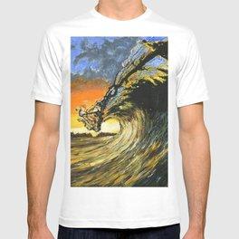 Big Wave Over Sunset T-shirt