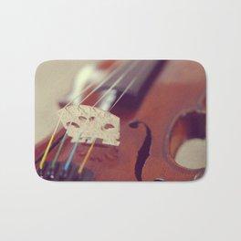 Antique Violin Bath Mat