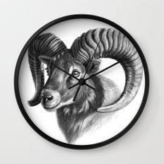 The mouflon G125 Wall Clock