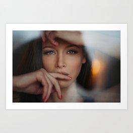 Portrait by Nikolay Ivanov Art Print