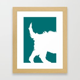 Dogs in Color - Parker Framed Art Print